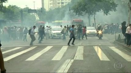 Protestos de 24 horas alteram a rotina dos moradores do Rio e de Niterói