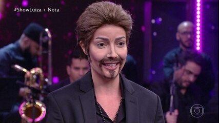 Luiza Possi conta como foi se transformar em George Michael