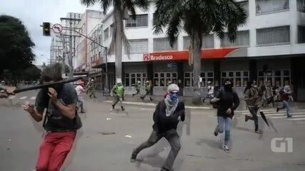 Novo vídeo mostra detalhes de agressão cometida por PM contra estudante, em Goiânia