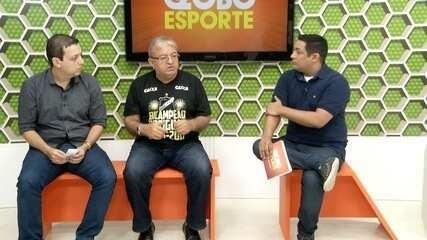 Comentarista Augusto César Gomes e presidente do ABC, Judas Tadeu, analisam campanha alvinegra no estadual