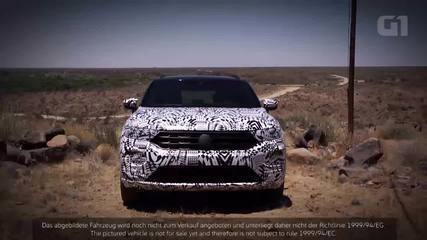 SUV do Volkswagen Golf roda camuflado em testes