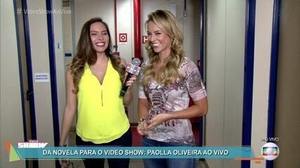 Marcela Monteiro bate um papo com Paolla Oliveira