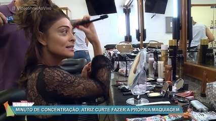 Juliana Paes mostra o segredo do visual de Bibi