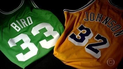 NBA 70: Como Bird, Magic Johnson e Michael Jordan impulsionaram o crescimento da liga
