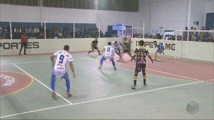 Confira gols e os resultados dos jogos desta segunda-feira na Taça EPTV de Futsal