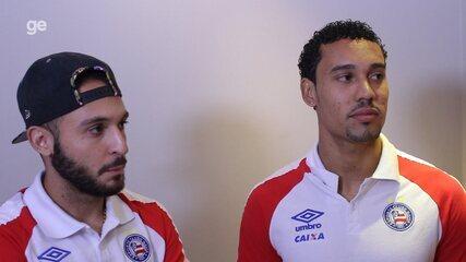 Veja entrevista exclusiva de Régis e Edgar Júnio, do Bahia, ao globoesporte.com/ba