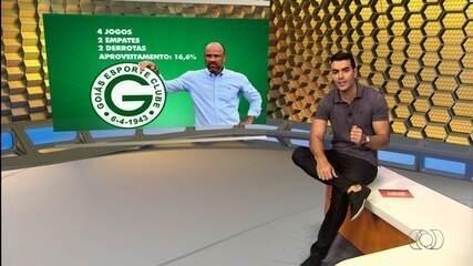 Goiás anuncia demissão do técnico Sérgio Soares