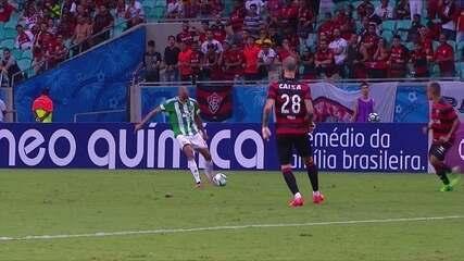 Melhores momentos de Vitória 0 x 1 Coritiba pela 3ª rodada do Campeonato Brasileiro
