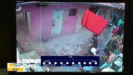Imagens mostram pensão funcionando ao lado de demolição na Cracolândia