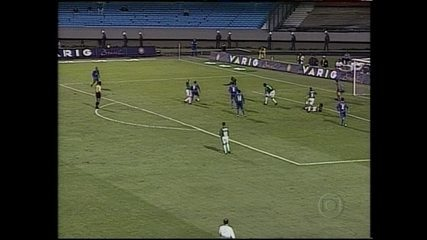 Palmeiras derrota Cruzeiro por 2 a 0 e conquista a Copa do Brasil de 1998