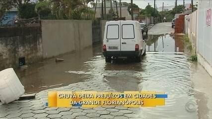 Chega a 88 nº de cidades afetadas pela chuva em SC