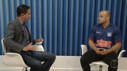 Marlon Moraes é entrevistado no RJ Inter TV 1ª Edição
