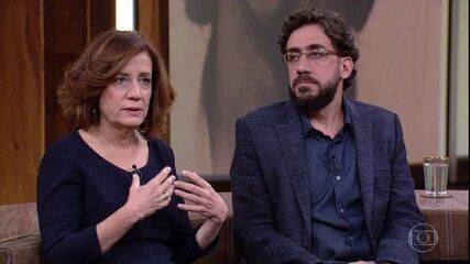 Miriam Leitão e o filho falam sobre perdão e justiça