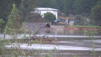 7 mil pessoas foram afetadas pela chuva em Lages