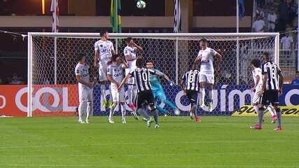 Melhores momentos: Santos 1 x 0 Botafogo pela 5ª rodada do Brasileirão