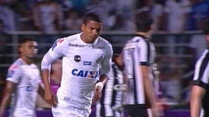 Melhores momentos de Santos 1 x 0 Botafogo, pela quinta rodada do Brasileirão