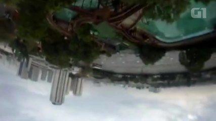 """G1 mostra câmera """"on board"""" em brinquedos do Playcenter"""