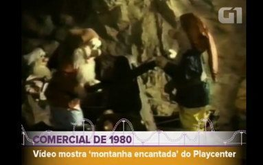 Propagandas na TV mostravam como eram os brinquedos e as novidades do Playcenter