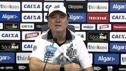 Assista à entrevista coletiva de Levir Culpi, novo técnico do Santos, na íntegra