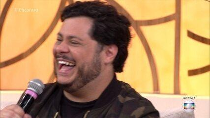 Marcos Majella pede que Fátima fale o bordão de um de seus personagens
