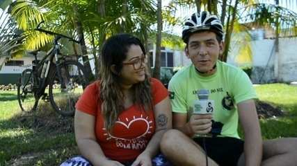 Casal pretende viajar pela América do Sul de bicicleta