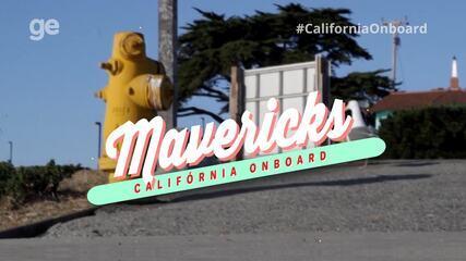 #CaliforniaOnboard: Confira algumas imagens da cidade das ondas gigantes, Mavericks