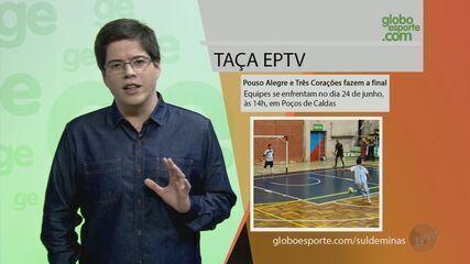 Pouso Alegre e Três Corações se enfrentam na final da Taça EPTV de Futsal Sul de Minas
