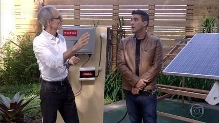 Energia solar: especialista mostra como ter painéis em casa