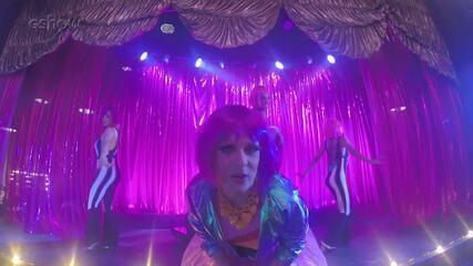 Gabriel Sanches mostra bastidores do show de drag queens em 'Pega Pega'