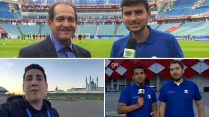 """Boletim #8 Copa das Confederações: Muricy elogia o México e brinca sobre experiência como """"repórter"""""""