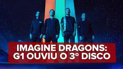 Imagine Dragons lança o disco 'Evolve'