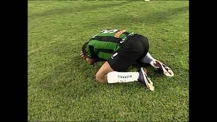 América-MG garantiu a volta a Série B após cinco anos ao vencer o Brasil de Pelotas, em 2009, no Estádio Independência