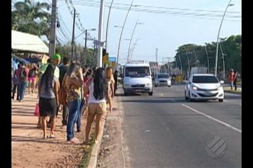 Rodoviários aderem à greve geral e ônibus não circulam na capital nesta sexta (30)