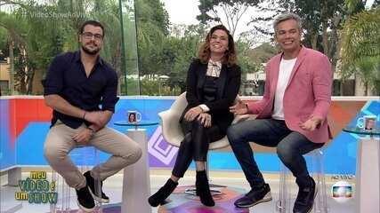 Giovanna Antonelli revisita a carreira no 'Meu Vídeo É Um Show'