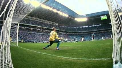 Confira as defesas do goleiro contra o Grêmio