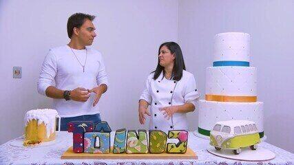 Reveja: Mário conhece cake desing em Uberlândia