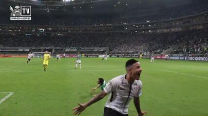 Veja comemoração de Guilherme Arana, do Corinthians, após gol no Dérbi