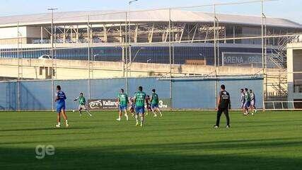Grêmio faz treino coletivo nesta sexta-feira (14)