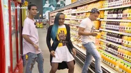 Parte 1: Programa começa com homenagem a Anitta