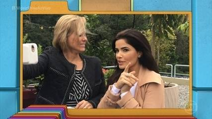 Vanessa Giácomo bate papo sincero com Mônica Salgado