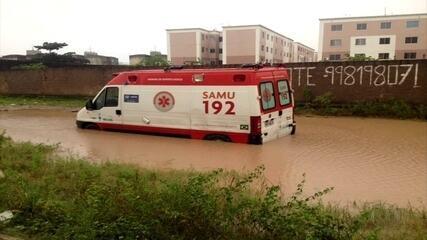 Chuvas causam transtornos no Grande Recife e na Zona da Mata de Pernambuco