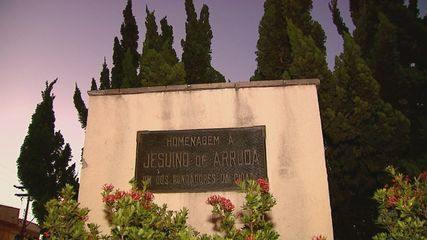 Estátua de bronze de Jesuíno de Arruda é furtada em São Carlos, SP