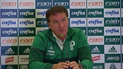 Cuca explica afastamento de Felipe Melo