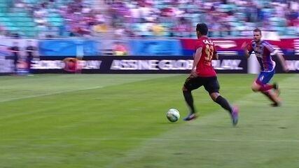 Leão venceu o Bahia por 3 a 1 e calou a Fonte Nova