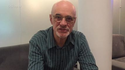 Marcos Caruso elogia Rodrigo Fagundes nos bastidores de 'Pega Pega'