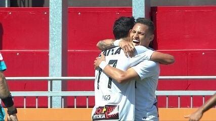Os gols de Flamengo 0 x 2 Vitória pela 19ª rodada do Brasileirão