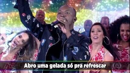 Thiaguinho canta 'Caraca, Muleke!'