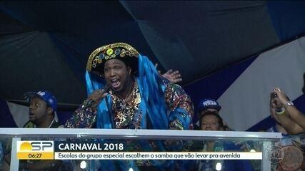Acadêmicos do Tatuapé e Independente Tricolor escolhem samba-enredo para 2018