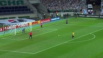 Os pênaltis de Palmeiras x Barcelona-EQU