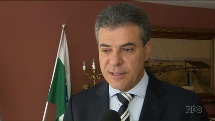 Governador Beto Richa fala sobre inquérito do STF